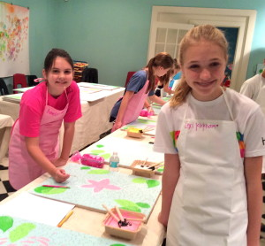 Artists at work! 9/20/14