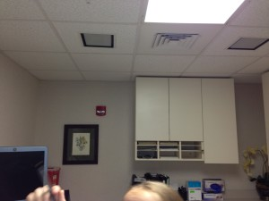 The Biopsy Room at the Beginning of the Project