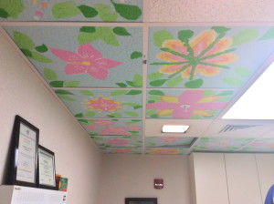 The ceiling is getting brighter!